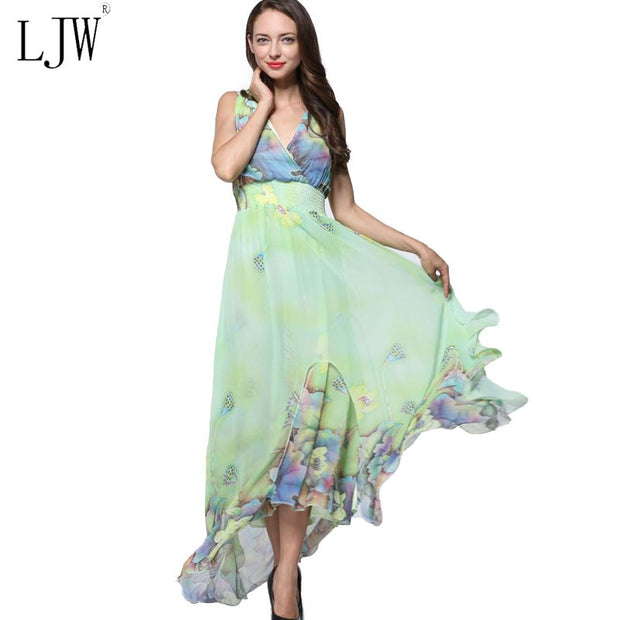 2017 Summer Elegant Beach [Party Chiffon Clothing Ladies Bohemian