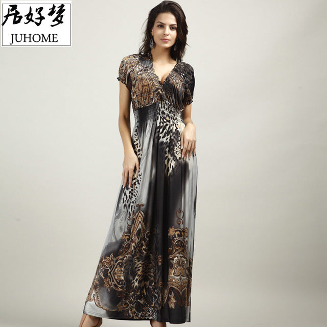4XL 5XL big size large size plus size women clothing Sexy maxi long