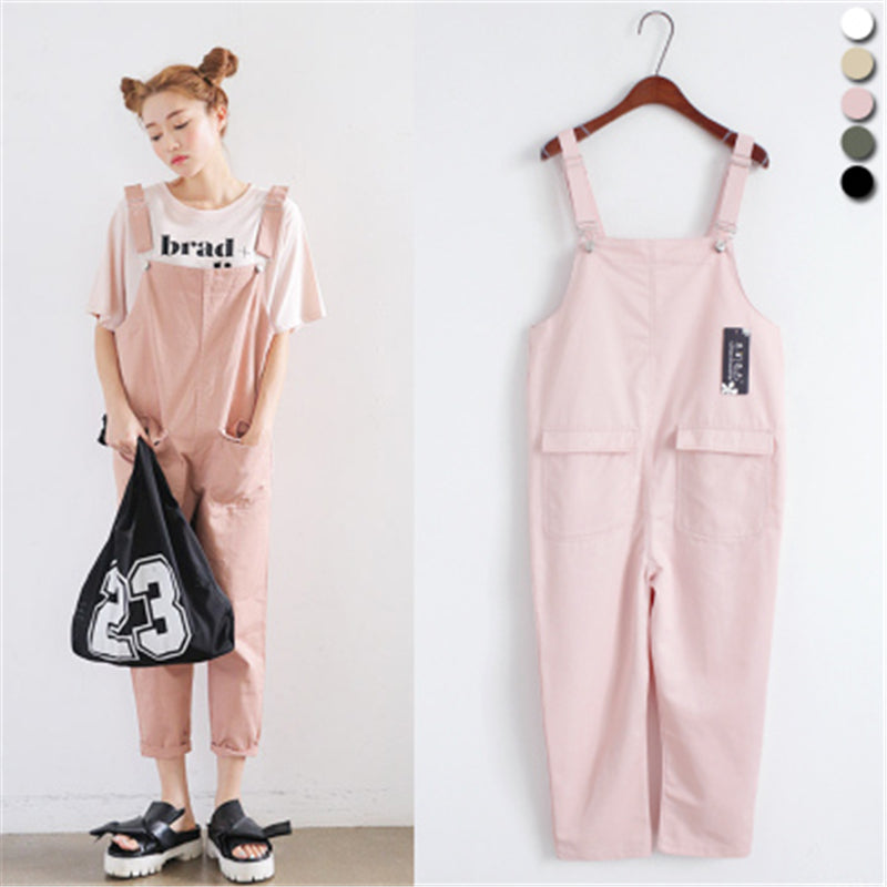 2017 New Fashion Rompers Womens Solid Denim Jumpsuit Casual Linen