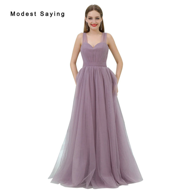 Elegant Purple A-Line Sweetheart Pleated Bridesmaid Dresses 2017