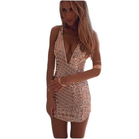 Summer Style Womens Sexy Dresses Party Night Club Dress Aliexpress2015Summer Sequined Dress Slimming Mujer Vestidos Dresses C169 - Monika's Dresses