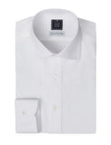 Spread Collar White Dress Shirt | Mens Shirts | Standard Shirt