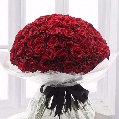 100 RED ROSES - HEAD OVER HEELS