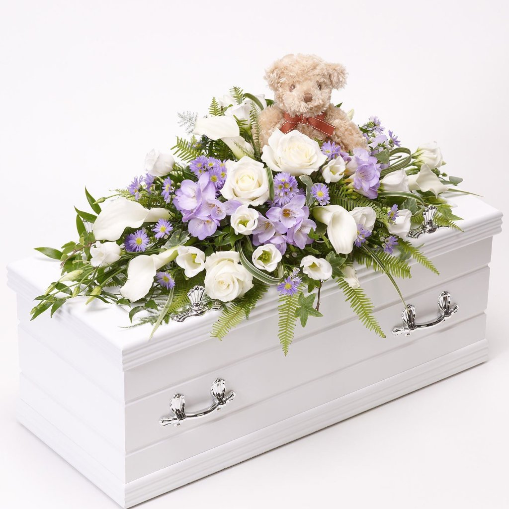 Children's Casket Spray (Purple)
