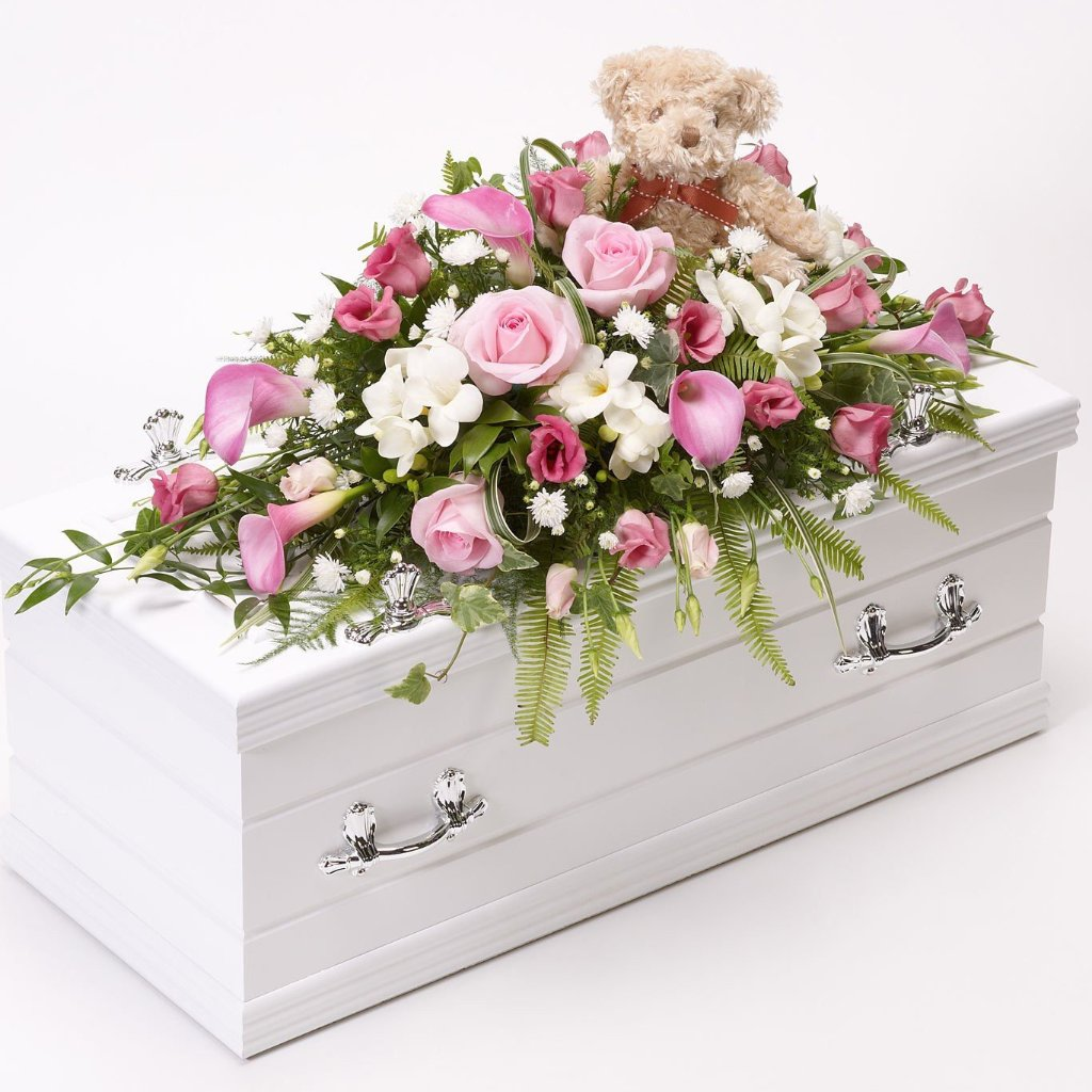 Children's Casket Spray (Pink)