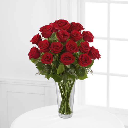 SAME DAY DELIVERY: 24 RED OR 24 WHITE ROSES WITH FREE VASE, CLICK HERE!