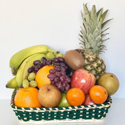FLAT FRUIT BASKET