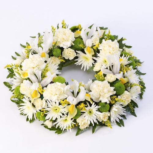 Wreath (Yellow & White)
