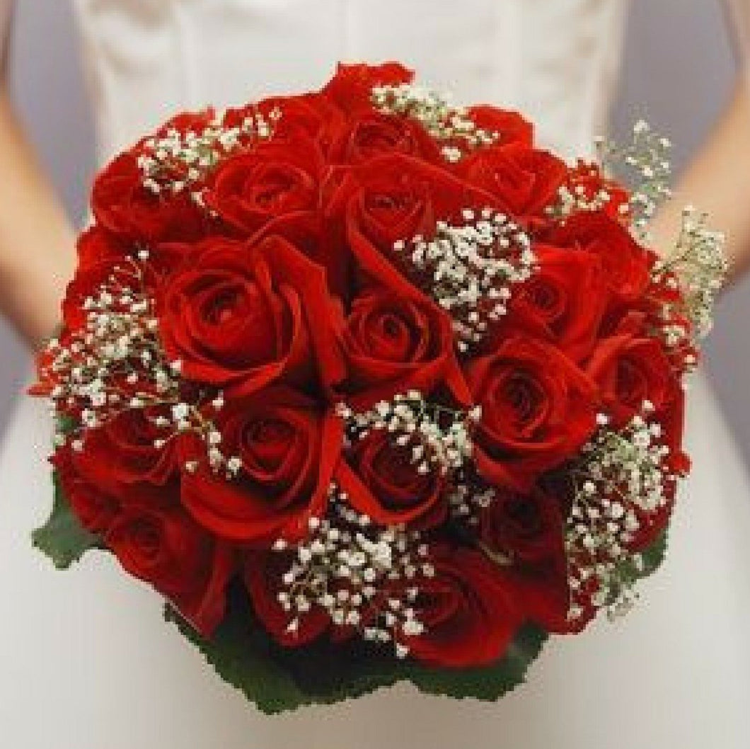 Simple-  Bridal Bouquet