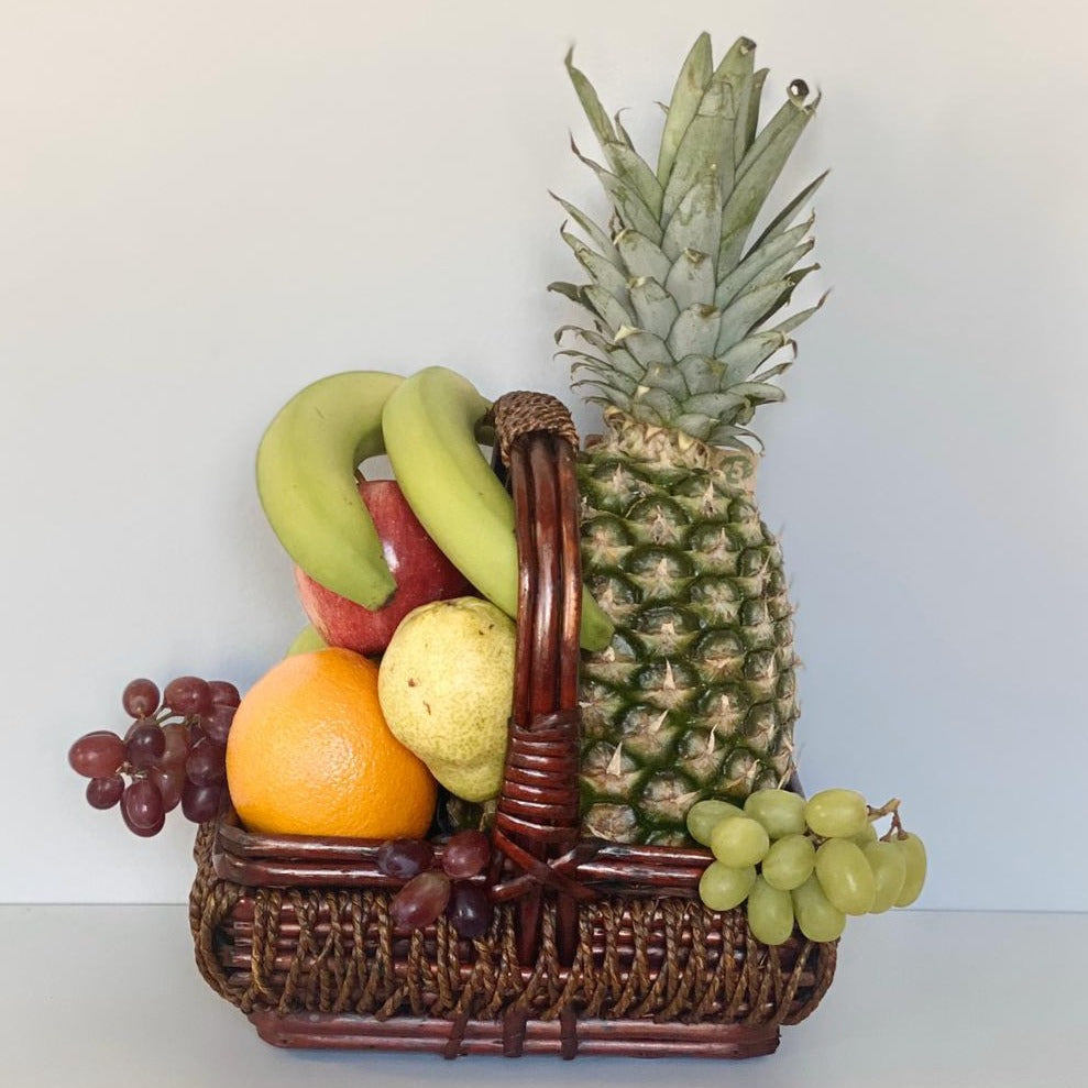 WICKER FRUIT BASKET