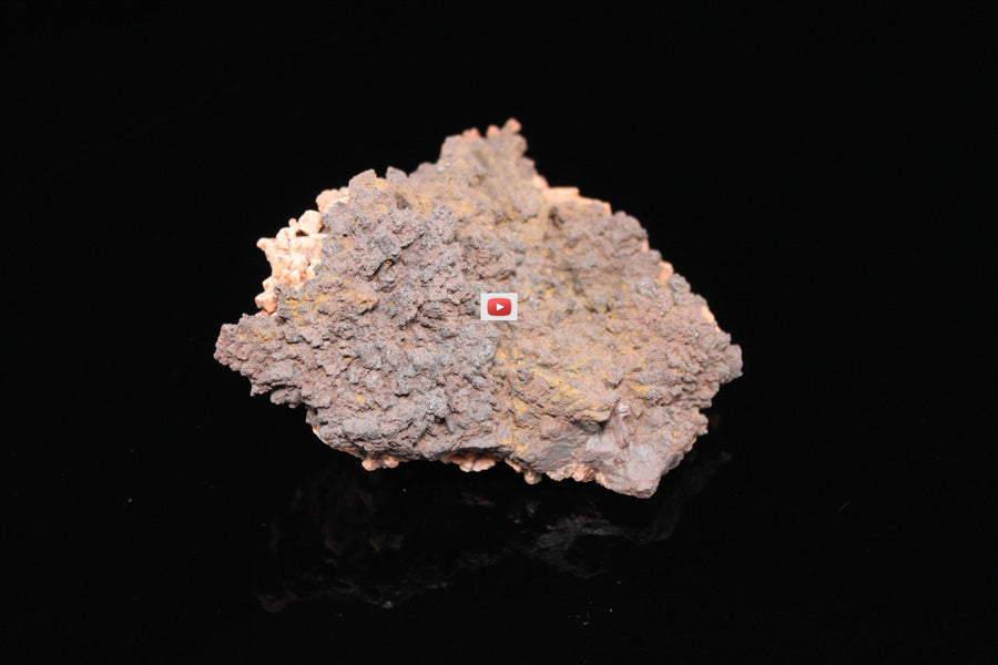 Hematite after Siderite on Microcline