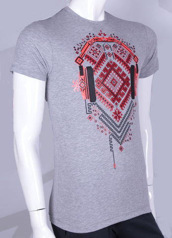 Cotton t-shirt with Ukrainian design