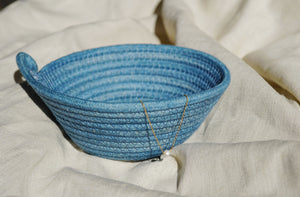 Mini Rope Bowl- Solid Indigo