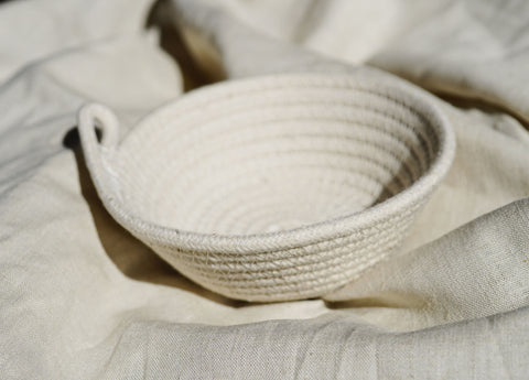 Mini Rope Bowl- Plain