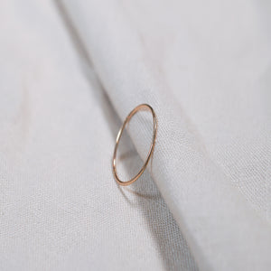 The Whisper Thin Smooth Ring