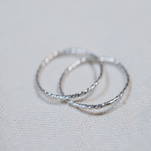 The Whisper Thin Twist Ring