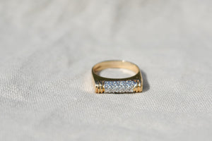 The Diamond Bar Ring