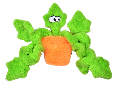 Duraplush Ivy Potted Plant Dog Toy (Unstuffed)