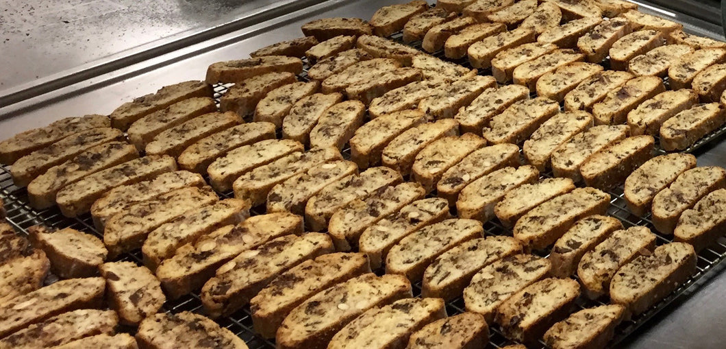 Dark Chocolate Almond Biscotti (not Dipped)