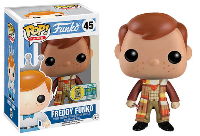 Funko POP Freddy SDCC Funatic Store Blog