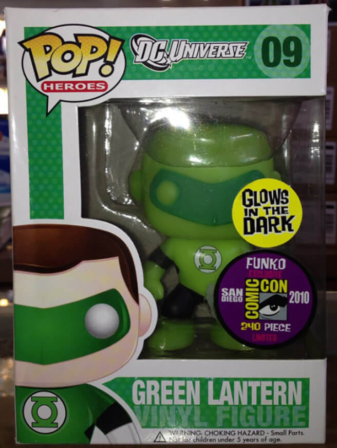 Funko POP Linterna Verde SDCC Funatic Store Blog