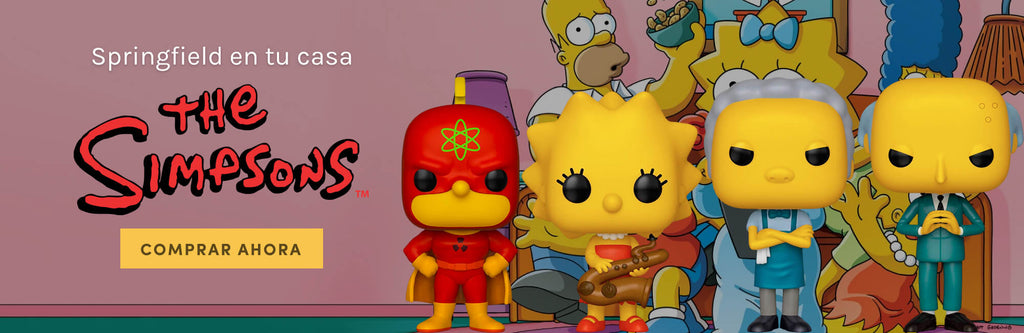 Banner Funko POP Simpsons Funatic Store Colombia