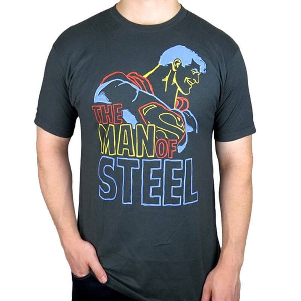 Camiseta Man of Steel