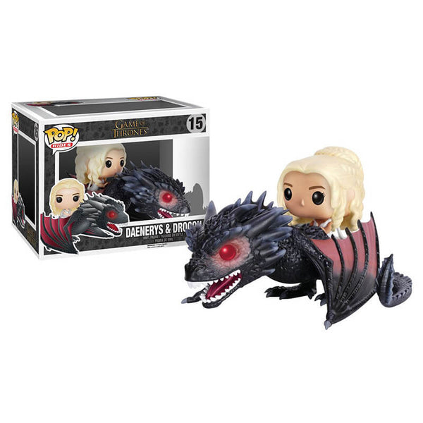 Funko POP Rides Daenerys y Drogon Game of Thrones Funatic Store Colombia