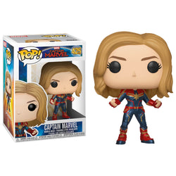 Funko POP Capitana Marvel 425 Funatic Store Colombia