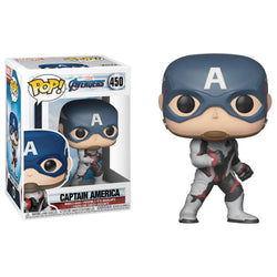 Funko POP Capitán América Avengers Endgame 450 Marvel Funatic Store Colombia