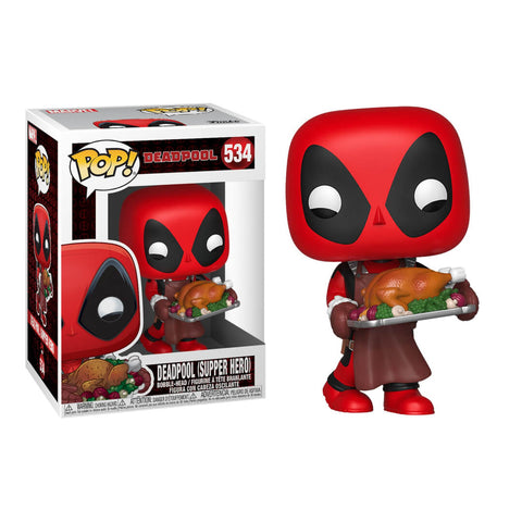 Funko POP Deadpool Supper Hero 534 Holiday Marvel Funatic Store Colombia