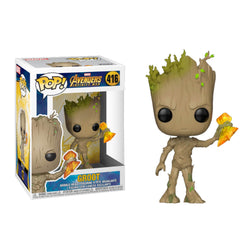 Funko POP Groot 416 Avengers Infinity War Funatic Store Colombia