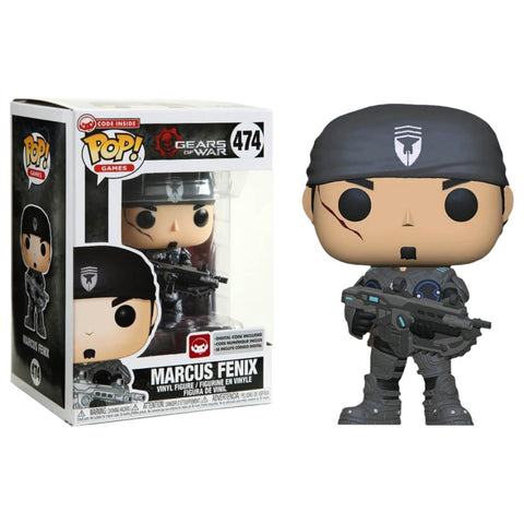 Funko POP Marcus Fenix 474 Gears of War Funatic Store Colombia