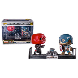 Funko POP Red Skull y Capitán América 389 Marvel Funatic Store Colombia