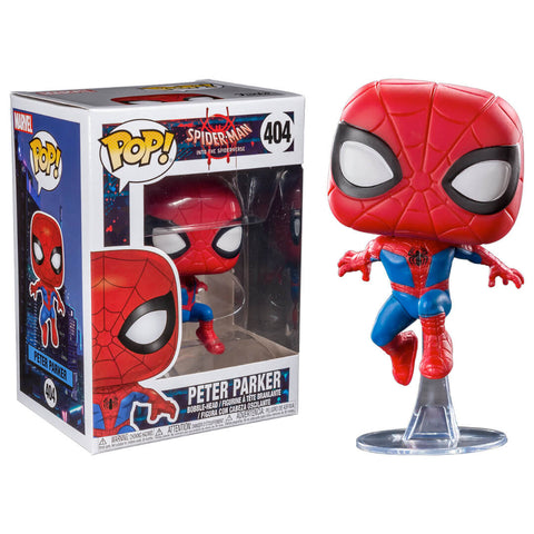 Funko POP Peter Parker 404 Spiderman Into The Spiderverse Marvel Funatic Store Colombia