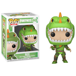 Funko POP Rex 443 Fortnite Funatic Store Colombia
