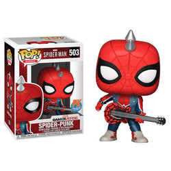 Funko POP Spider-Punk Gamerverse 503 Spiderman Funatic Store Colombia