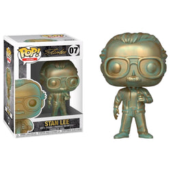 Funko POP Stan Lee Patina 07 Marvel Funatic Store Colombia