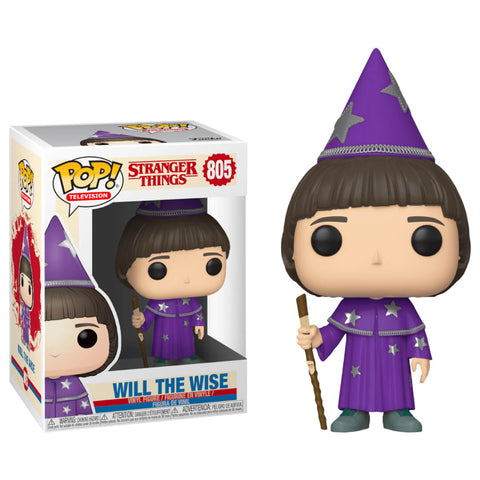 Funko POP Will The Wise 805 Stranger Things Netflix Funatic Store Colombia