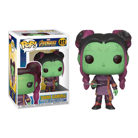 Funko POP Young Gamora 417 Avengers Infinity War Marvel Funatic Store Colombia