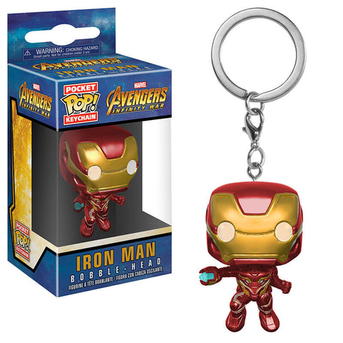 Llavero Funko POP Iron Man Avengers Infinity War Funatic Store Colombia