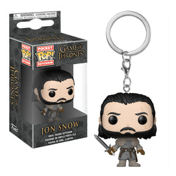Llavero Funko POP Jon Snow Game of Thrones Funatic Store Colombia