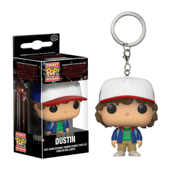 Funko POP! Keychains Llavero Stranger Things Dustin Funatic Store Colombia