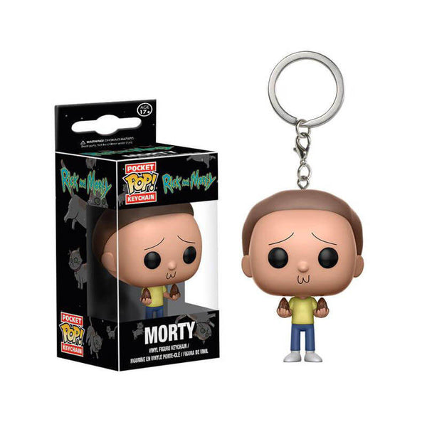 Funko-POP!-Keychains-Morty-Rick -y-Morty-Funatic-Store-Colombia