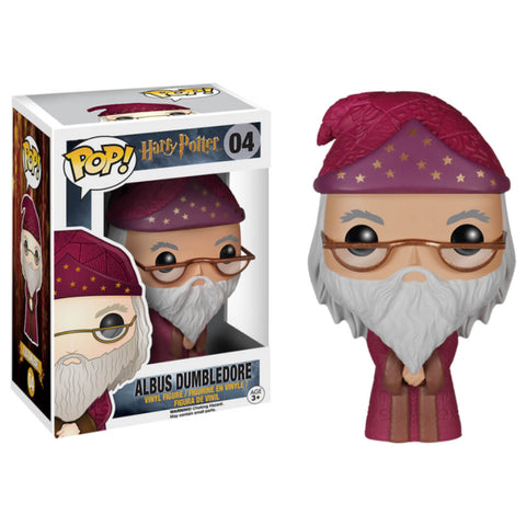 Funko POP Albus Dumbledore 04 Harry Potter Funatic Store Colombia