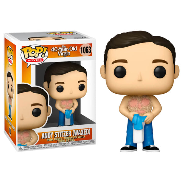 Funko POP Andy Stitzer 1062 Virgen a los 40 Funatic Store Colombia