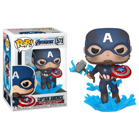 Funko POP Capitán América 573 Endgame Marvel Funatic Store Colombia
