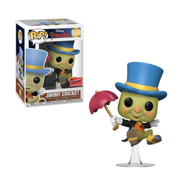 Funko POP Jiminy Cricket 978 Pepe Grillo NYCC 2020 Disney Funatic Store Colombia