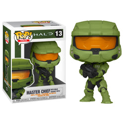 Funko POP Master Chief MA40 Rifle Asalto Halo Funatic Store Colombia