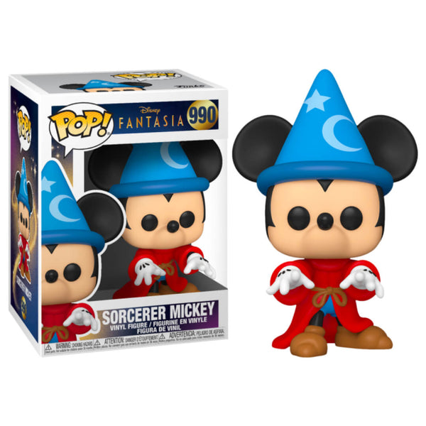 Funko POP Mickey Hechicero 990 Disney Funatic Store Colombia